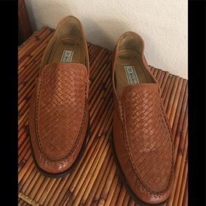 Vero Cuoio Leather Woven Shoes Made in Italy